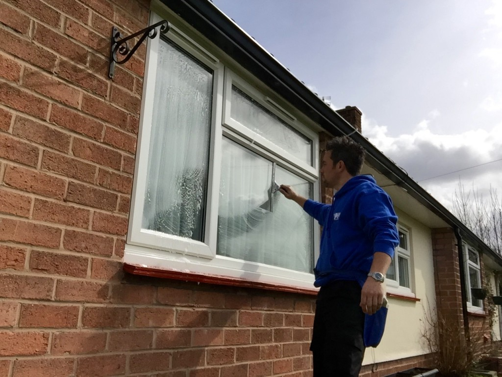 Traditional window cleaning services