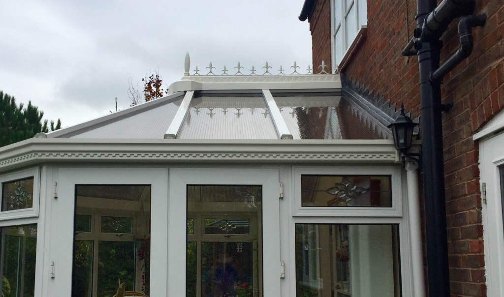 Window Cleaner in Shrewsbury, image of AG Window Cleaning - Conservatory roof - after picture